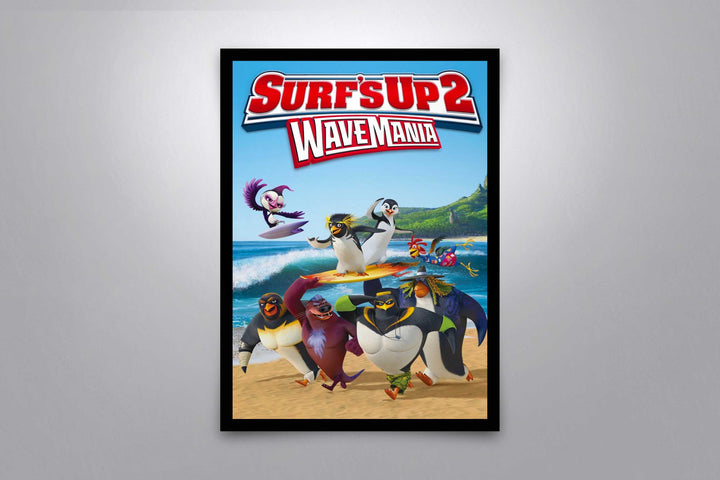 Surf's Up 2: Wave Mania - Signed Poster + COA
