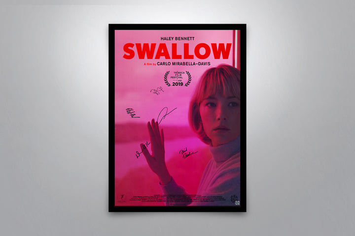 Swallow - Signed Poster + COA