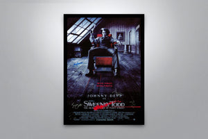 Sweeney Todd: The Demon Barber of Fleet Street - Signed Poster + COA