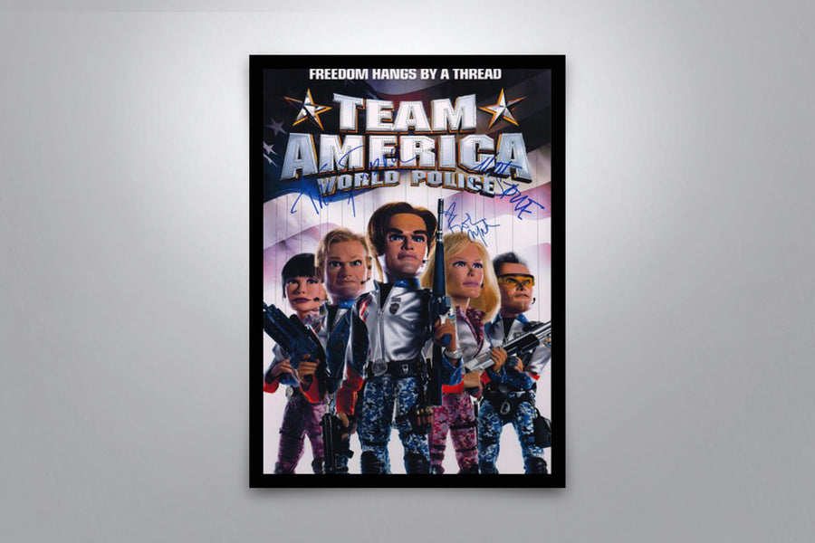 Team America: World Police - Signed Poster + COA