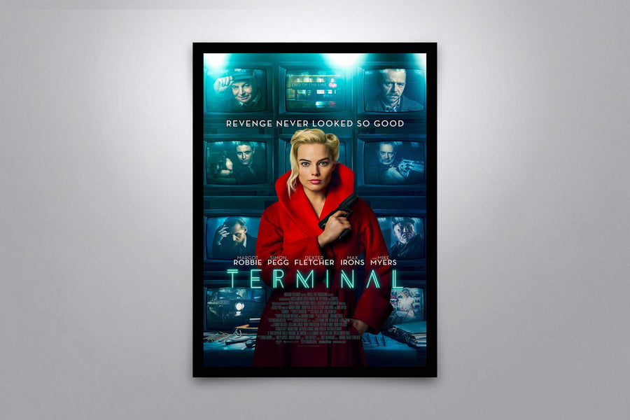 Terminal - Signed Poster + COA