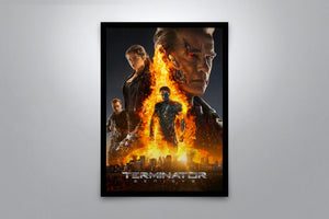 Terminator: Genisys - Signed Poster + COA