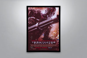 Terminator Salvation - Signed Poster + COA