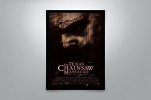 The Texas Chainsaw Massacre - Signed Poster + COA