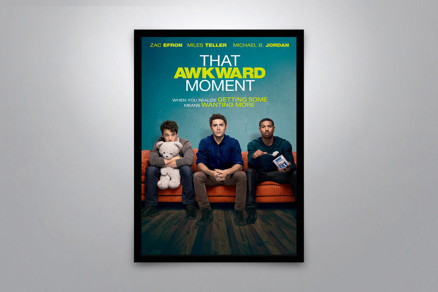 That Awkward Moment  - Signed Poster + COA