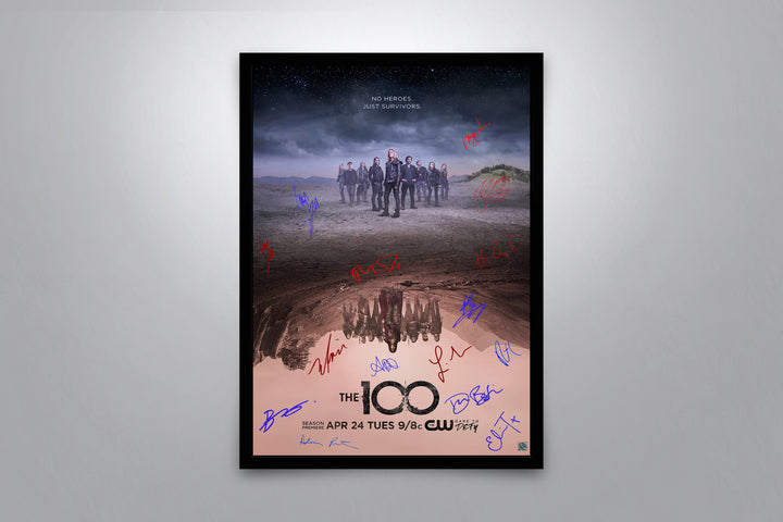 The 100 - Signed Poster + COA
