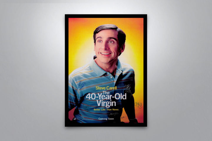 The 40 Year Old Virgin - Signed Poster + COA