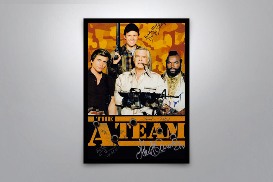 The A-Team - Signed Poster + COA