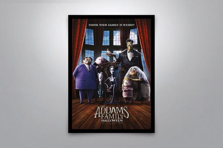 The Addams Family 2019 - Signed Poster + COA