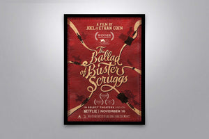 The Ballad of Buster Scruggs - Signed Poster + COA