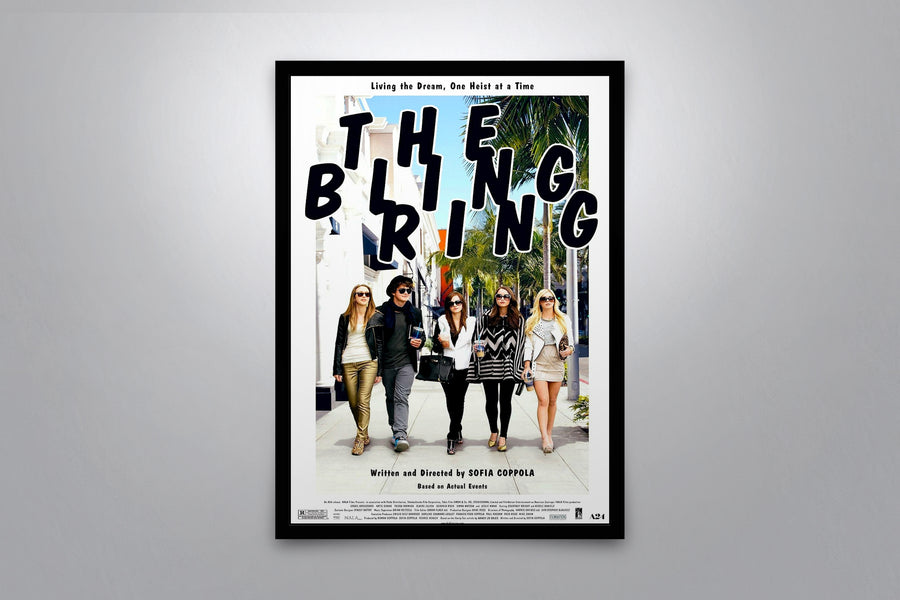 The Bling Ring - Signed Poster + COA
