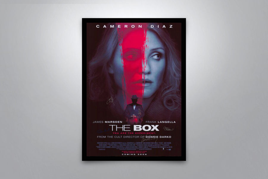 The Box - Signed Poster + COA