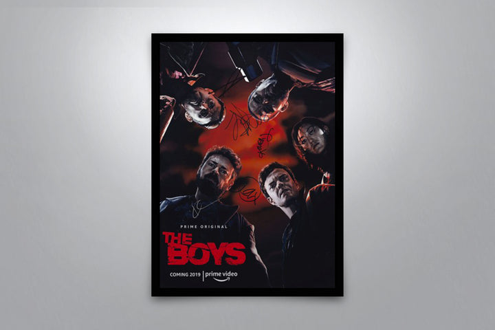The Boys - Signed Poster + COA