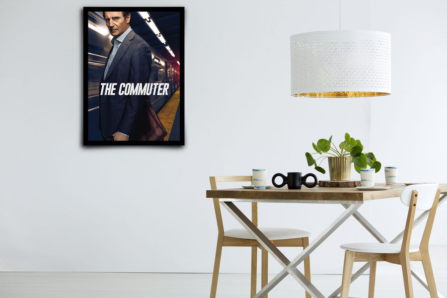 The Commuter - Signed Poster + COA