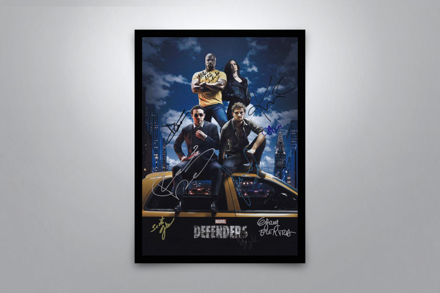 The Defenders - Signed Poster + COA