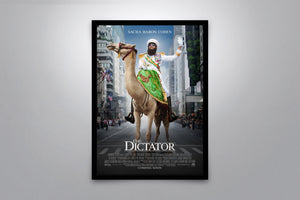 The Dictator - Signed Poster + COA