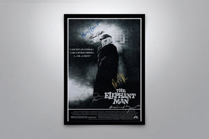 The Elephant Man - Signed Poster + COA