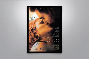 The English Patient - Signed Poster + COA