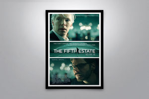 The Fifth Estate - Signed Poster + COA