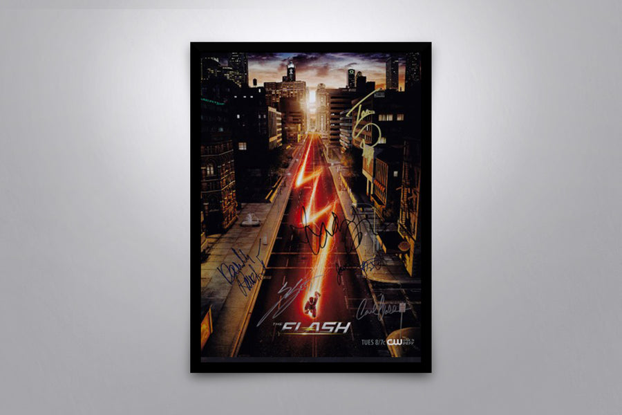 The Flash - Signed Poster + COA