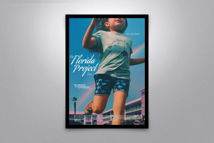 The Florida Project - Signed Poster + COA