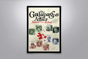 The Galapagos Affair: Satan Came to Eden - Signed Poster + COA