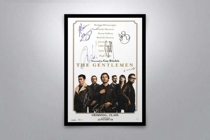 The Gentlemen - Signed Poster + COA