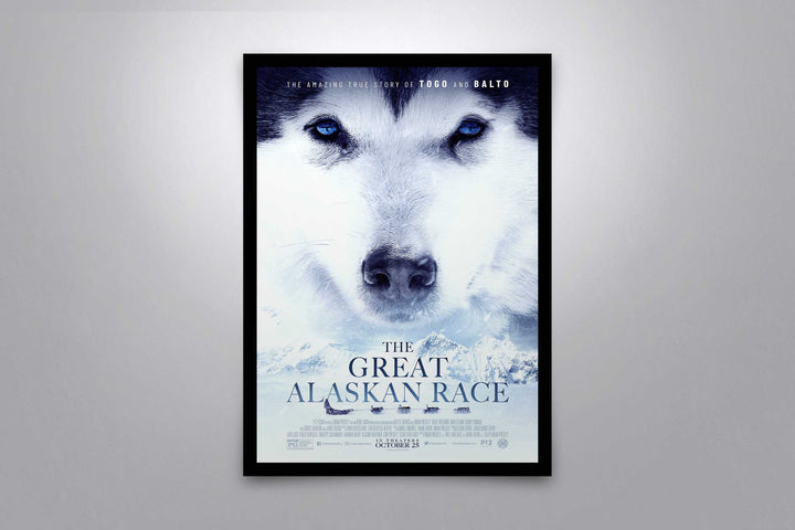 The Great Alaskan Race - Signed Poster + COA