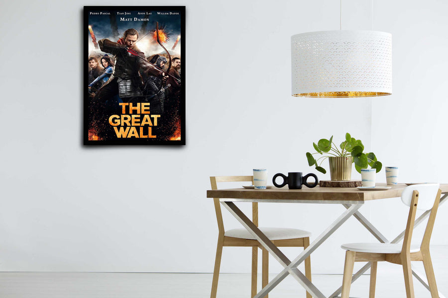 The Great Wall  - Signed Poster + COA
