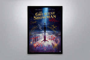 The Greatest Showman - Signed Poster + COA