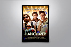 THE HANGOVER - Signed Poster + COA
