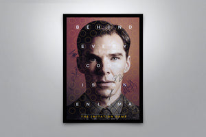 The Imitation Game - Signed Poster + COA