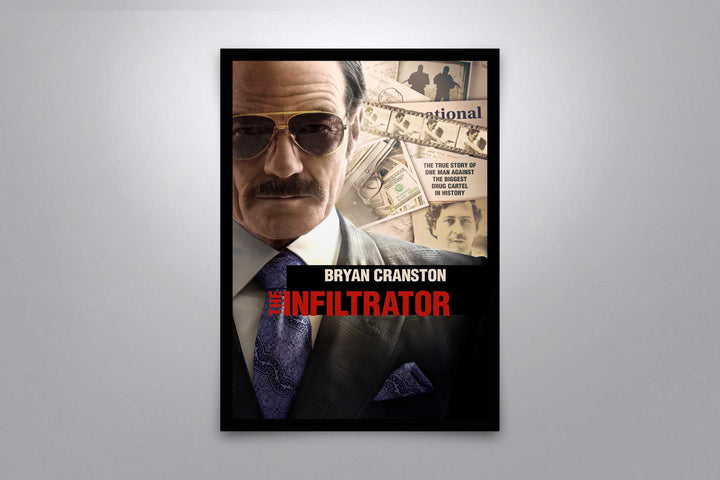 The Infiltrator  - Signed Poster + COA
