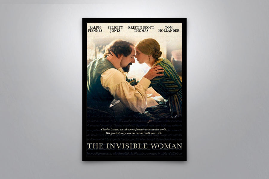 The Invisible Woman - Signed Poster + COA