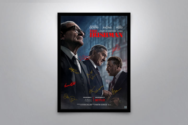 The Irishman - Signed Poster + COA