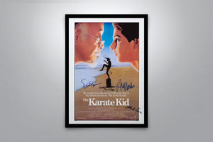 The Karate Kid (1984) - Signed Poster + COA