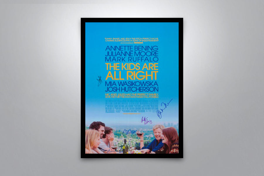 The Kids Are All Right - Signed Poster + COA
