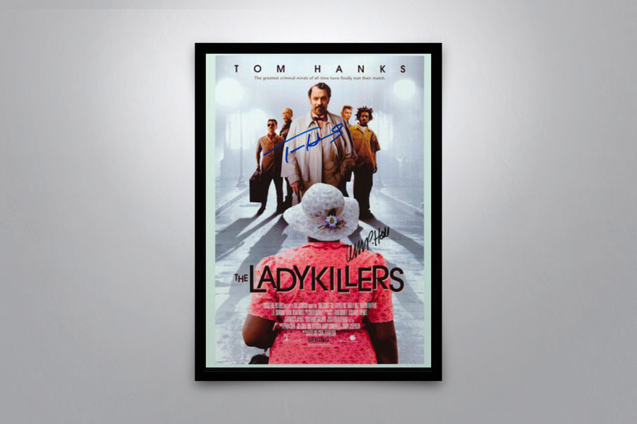The Ladykillers - Signed Poster + COA