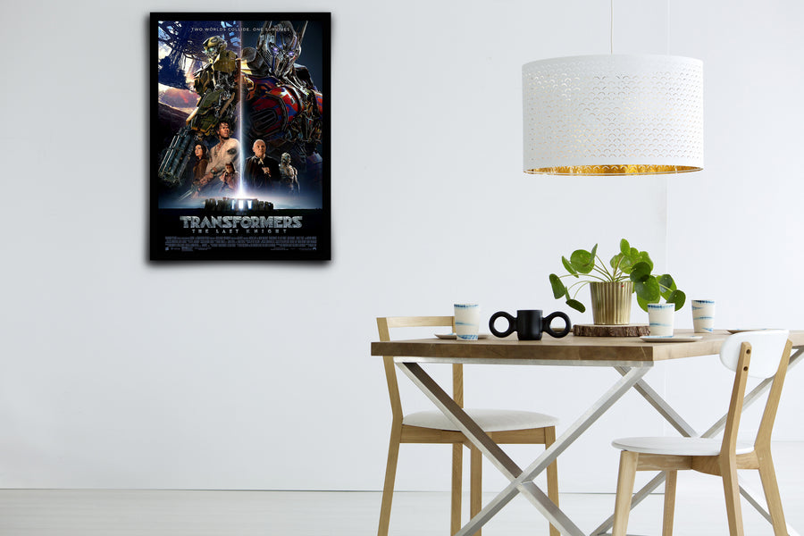 TRANSFORMERS: The Last Knight - Signed Poster + COA