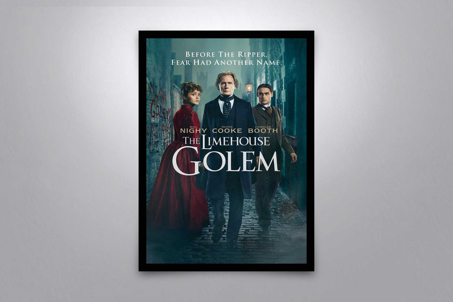 The Limehouse Golem - Signed Poster + COA