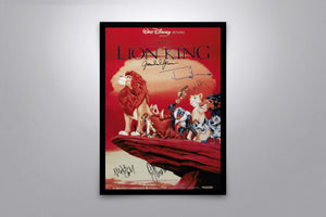 The Lion King - Signed Poster + COA