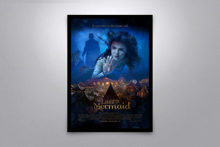 The Little Mermaid 2018- Signed Poster + COA