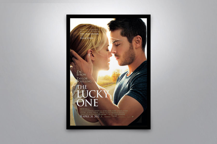 The Lucky One - Signed Poster + COA
