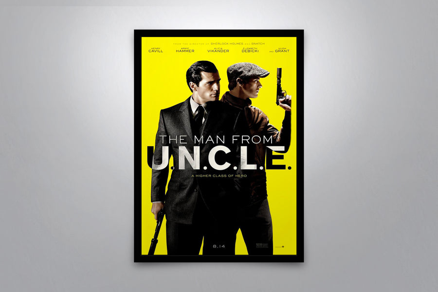 The Man from U.N.C.L.E. - Signed Poster + COA