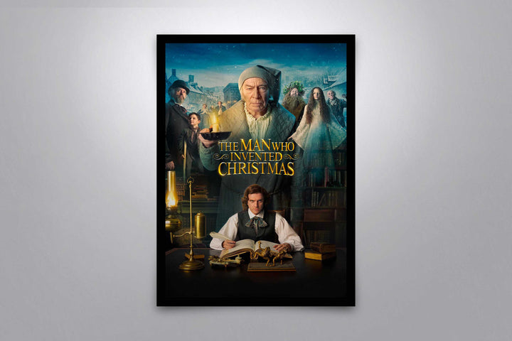 The Man Who Invented Christmas - Signed Poster + COA