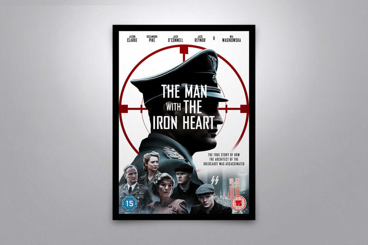 The Man with the Iron Heart - Signed Poster + COA