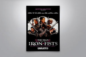 The Man with the Iron Fists - Signed Poster + COA