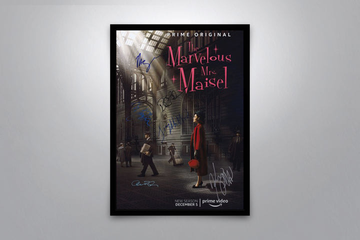 The Marvelous Mrs. Maisel - Signed Poster + COA