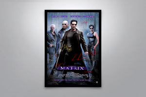 THE MATRIX - Signed Poster + COA