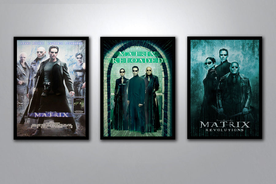 The Matrix Complete Poster Collection